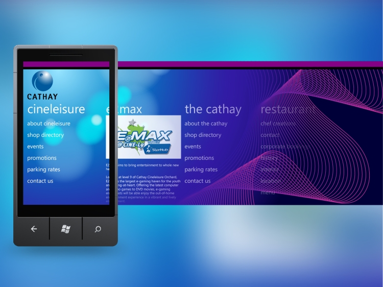 Cathay WP7 App